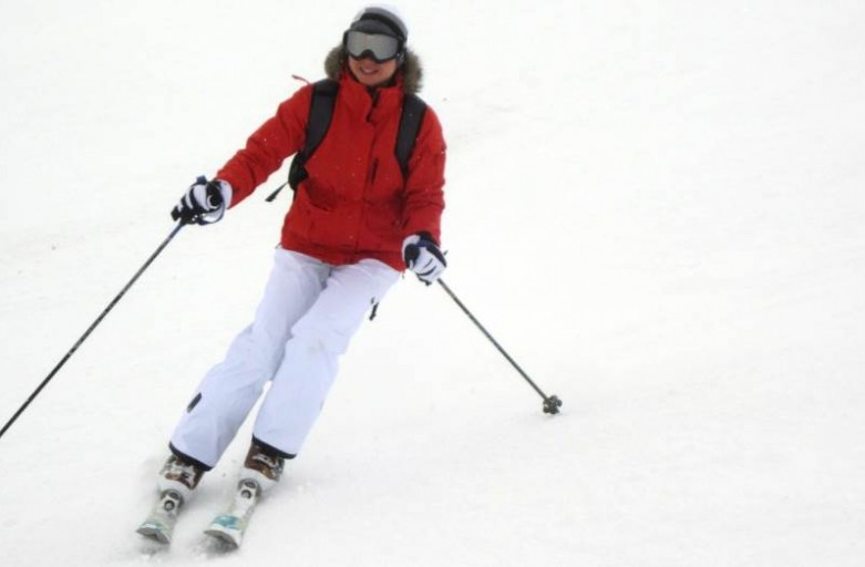 hitting the ski slopes exercising with a personal trainer in Fareham